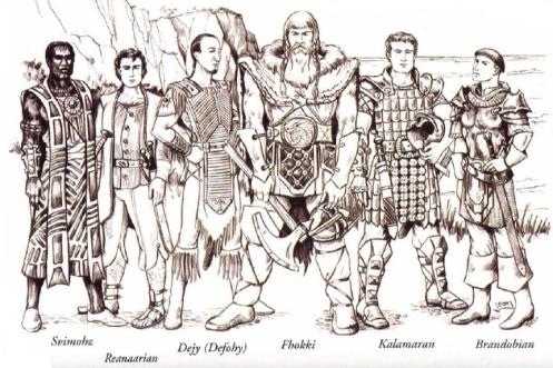Races of Kingdoms of Kalamar: Legacy – Many-Sided Dice